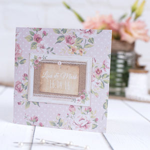 Country Cottage Wedding Stationery