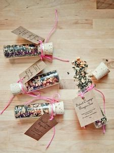 Cute Wedding Favour Tea In Cork Bottle - what's new