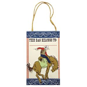 Howdy Cowboy Western Themed Party Bags