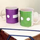 Personalised 'Initial Morse Code' Ceramic Mug