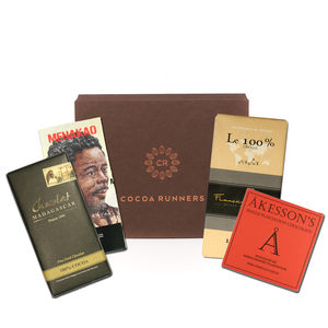 100% Madagscan Dark Chocolate Selection - luxury chocolates