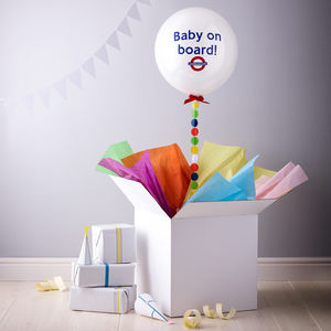 'Baby On Board' Balloon - baby shower decorations