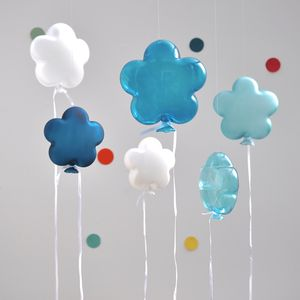 Glass Puff Balloon - hanging decorations