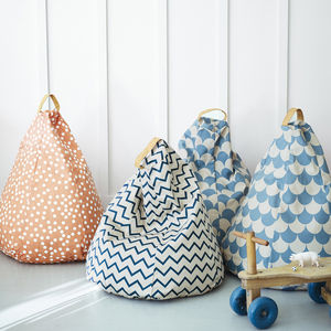 Amely Bean Bags, Designed By Nobodinoz - for over 5's