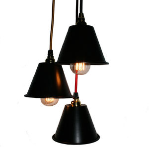 Mini Three Shade Chandelier - lighting