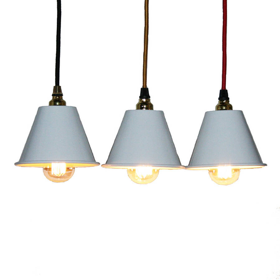 mini three shade chandelier by nuvarti. Black Bedroom Furniture Sets. Home Design Ideas