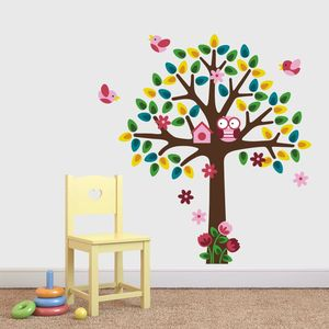 Girls Nursery Tree Wall Sticker - wall stickers