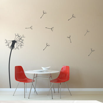 Dandelion Vinyl Wall Sticker