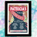 Hen Do Personalised Wedding Print