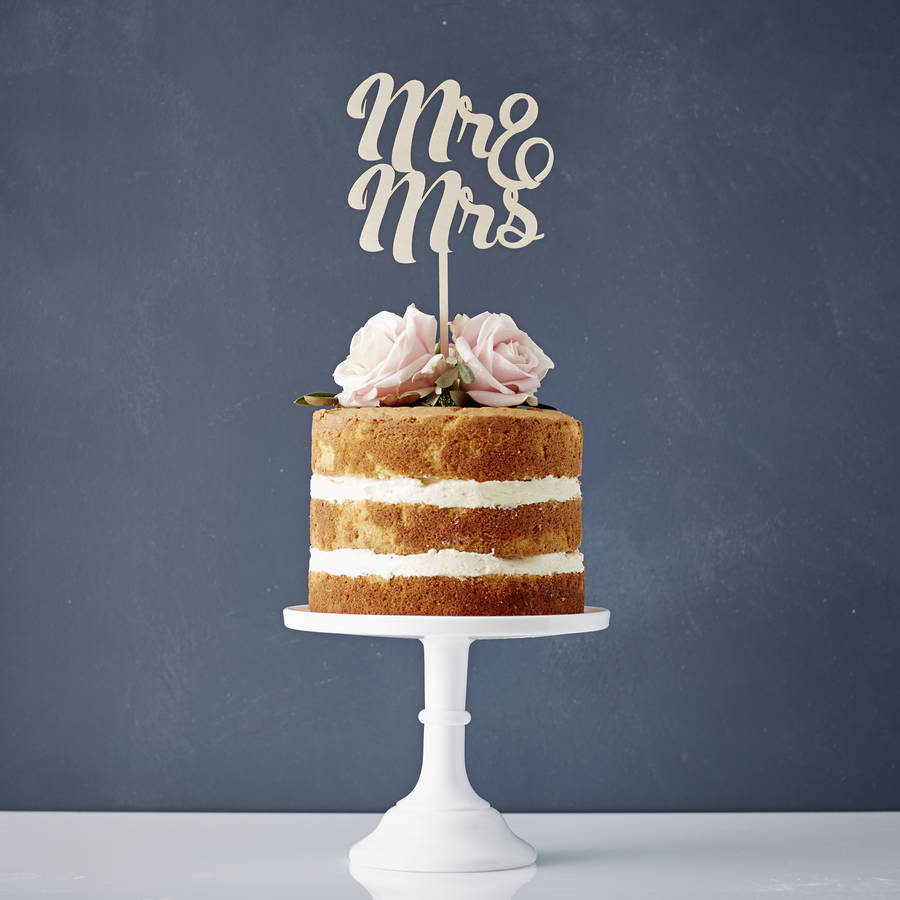 wedding cake toppers mr and mrs mr and mrs wooden wedding cake topper by 26547