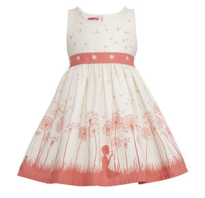 Martha Make A Wish Coral - christeningwear
