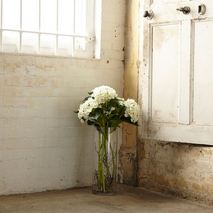 Sunbury White Flower Hydrangea - room decorations
