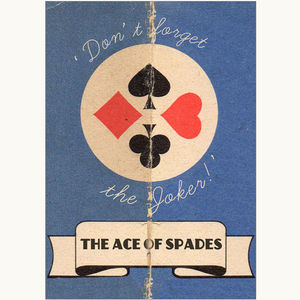 Ace Of Spades Limited Edition Giclee Print
