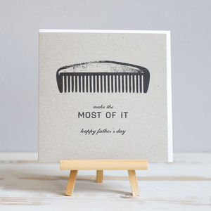 'Make The Most Of It' Father's Day Card