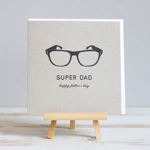 'Super Dad' Father's Day Card