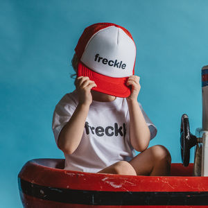 'Freckle' Trucker Mesh Cap - children's accessories