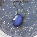 Pisces Zodiac Constellation Necklace
