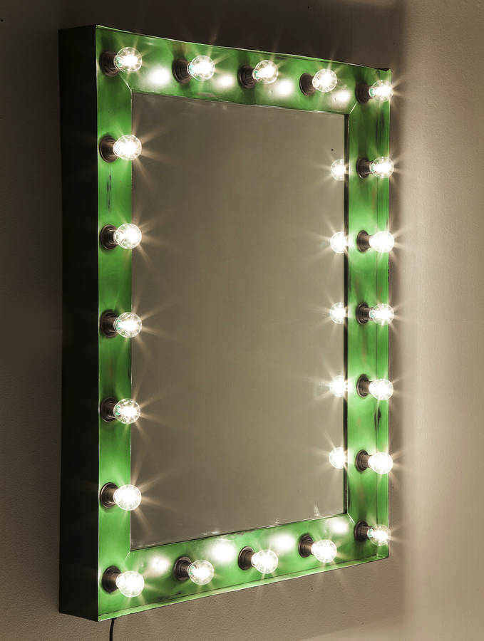 Show Mirror Light By I Love Retro Notonthehighstreet Com
