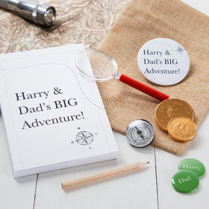 Personalised Daddy Adventure Kit - dadventures