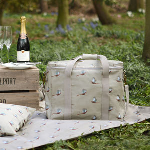 Pheasant Picnic Cool Bag - picnic hampers & baskets