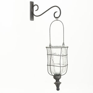 Lantern With Wall Bracket - garden