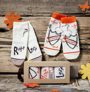 Right And Left Children's Socks - clothing