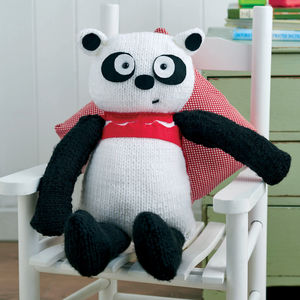 Big Panda Bear Knitting Kit - soft toys & dolls