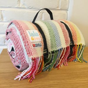 Pure New Wool Picnic Rug - picnics & barbecues