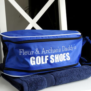 Personalised Golf Shoe Bag - gifts for golfers
