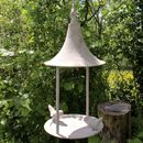 Aged Metal Bird Feeder