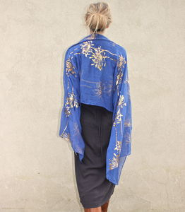 Japanese Blossom Wrap Or Scarf