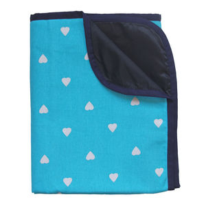 Spot Hearts Waterproof Picnic Blanket