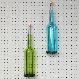 Green Bottle Tea Light Holder - candles & candlesticks
