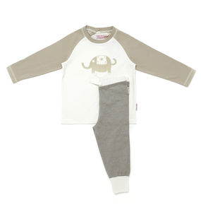 Lucy And Sam Elephant Pj's - children's nightwear