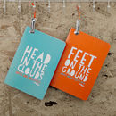 Head In The Clouds Reversible Notebook