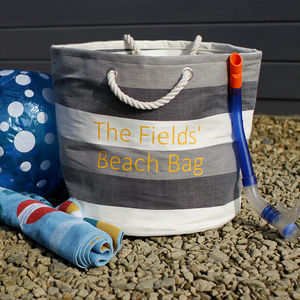 Personalised Beach Bag - laundry room