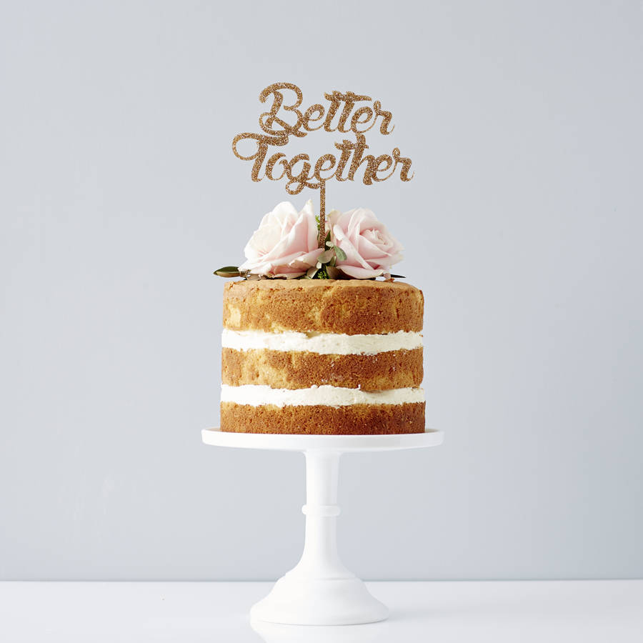 high street wedding cakes better together wedding cake topper by 15230