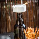 Wine Bottle Ashtray