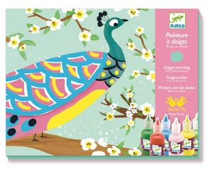 Finger Painting Set Create Animal Pictures