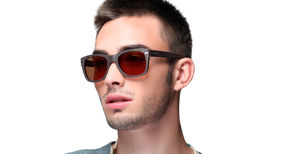 Cotton And Wood Sunglasses For Him