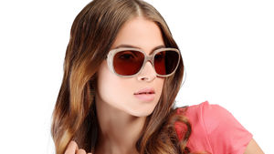 Cotton And Wood Sunglasses For Her