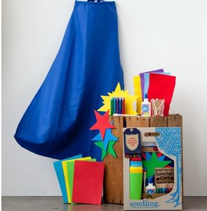 Design Your Own Superhero Cape - pretend play & dressing up