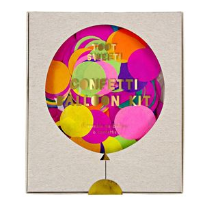 Colourful Confetti Balloon Kit