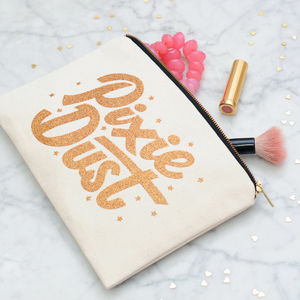 'Pixie Dust' Glitter Pouch - under £25
