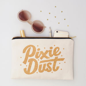 'Pixie Dust' Glitter Pouch - view all gifts for her