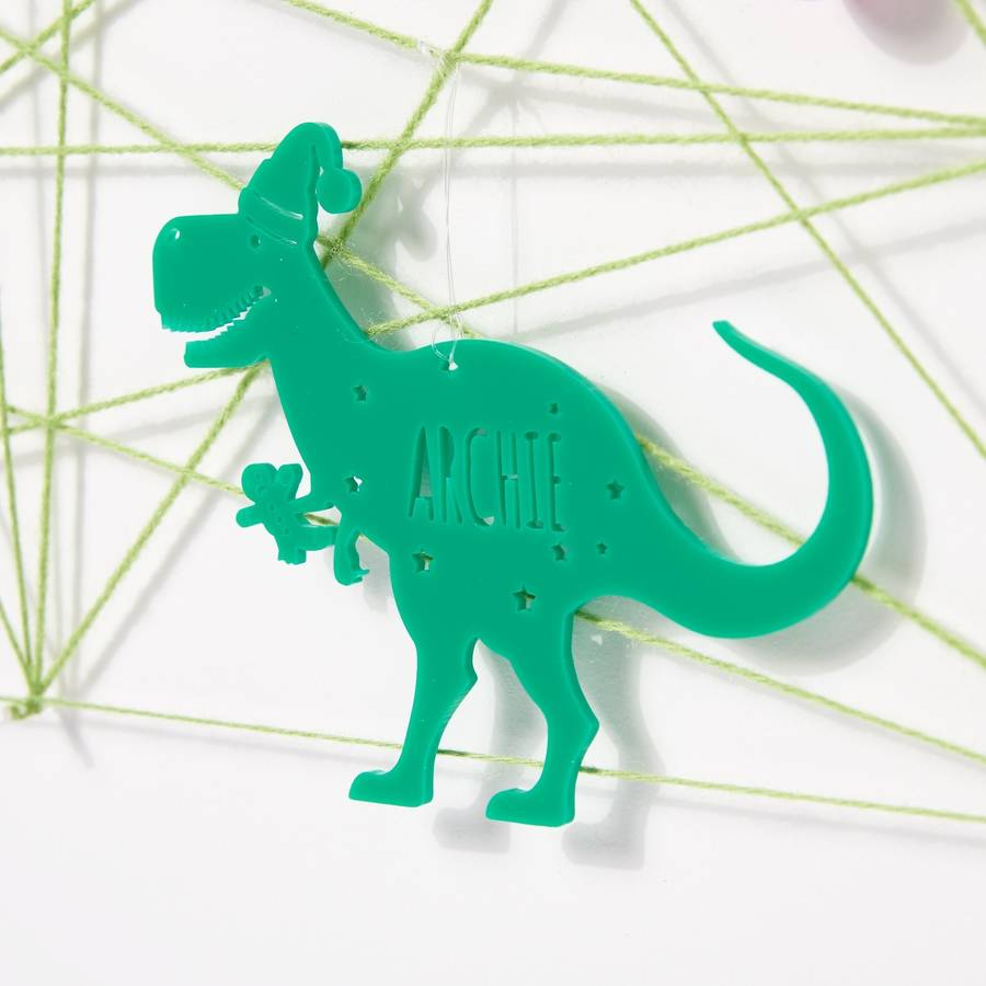dinosaur christmas decoration - Dinosaur Christmas Decorations