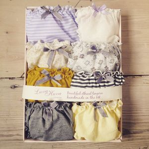 Eight Pack Assorted Frilly Knickers