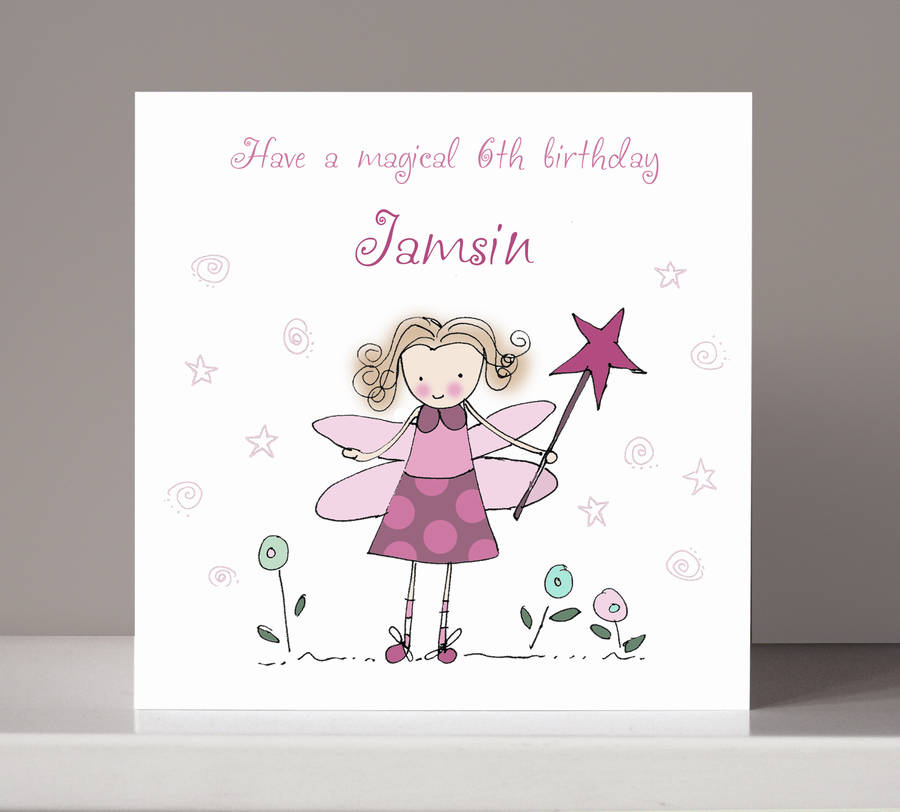 four personalised childrens birthday cards by molly moo designs – Children Birthday Cards