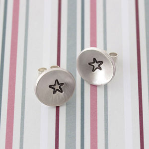 Handmade Star Stud Earrings