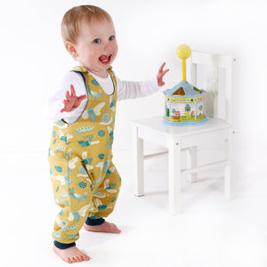 Organic Knit Bugs Romper - trousers & leggings